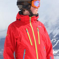 Unterwegs mit der Bergans Trolltind Jacket - ©Skiinfo.de