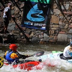 Gore Creek Kayaking Vail Mountain Games - ©Tim Shisler