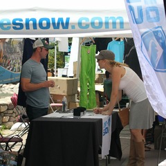 OnTheSnow Booth Vail Mountain Games