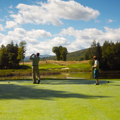 Hit the links at Okemo this summer with the Stay & Play Golf Package.