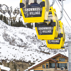 Snowmass Colorado ski lift