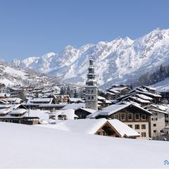 Le Clusaz, France, part of the Lake Annecy Ski Resorts ski region