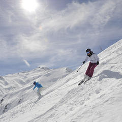 ski all mountain dynastar femmes - ©Dynastar / Dan Ferrer