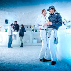 The Ice Camp on the Kitzsteinhorn in Kaprun: a good place to chill out