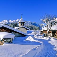 Chalets du hameau des Villes Dessus à Beaufort - ©© Savoie Mont Blanc / Lansard