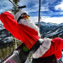 Santa at Winter Park