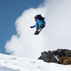 Snowboarder am Kitzsteinhorn - ©Gletscherbahnen Kaprun AG