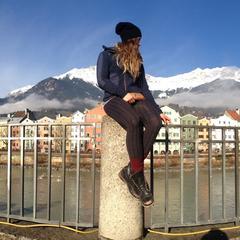 Travis Ganong and girlfriend exploring Innsbruck - ©Travis Ganong