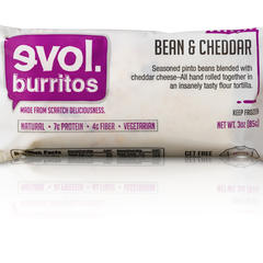 Evol mini burritos - ©EVOL Foods