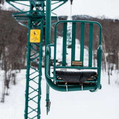 The legendary single chair at MRG - ©Liam Doran
