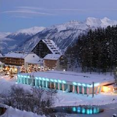 Casino Crans Montana at night - ©Casino Crans Montana