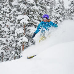 No sooner had Winter Park Resort announced it was extending its season to April 27 than Mother Nature declared her approval with a foot of fresh snow. - ©Sarah Wieck