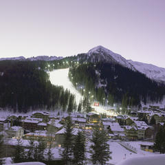 Evening in Madonna di Campiglio