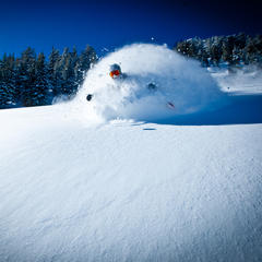 Mammoth powder! - ©Peter Morning