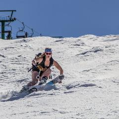 Spring skiing at Jay Peak - ©Jay Peak Resort