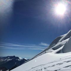 Sci estivo a Saas Fee (Svizzera)