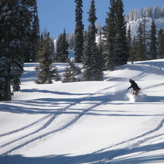 Wolf Creek, CO powder snowboarding