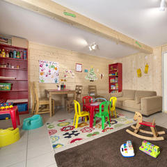 Playroom at Grand Chalet Mouflon, Les Gets - ©Grand Chalet Mouflon