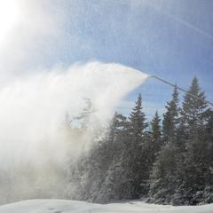 Okemo added 100 new snow guns to their arsenal for 2014. - ©Okemo Mountain Resort