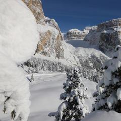 Val di Fassa, Panorama Sass Pordoi - ©APT Val di Fassa - N. Angeli
