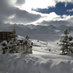 Bumper snowfall in the French Alps Nov. 17-18, 2014