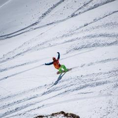 Sieger bei den Snowboard-Herren: Jonathan Charlet (FRA) - ©Freeride World Tour | David Carlier