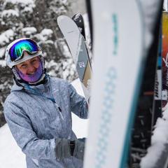 Fresh gear, fresh snow - ©Liam Doran