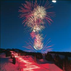 Copper Mtn CO torchlight