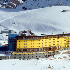 Portillo Hotel, Portillo, Chile.