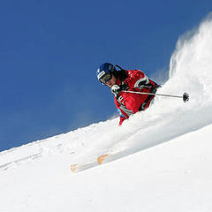 Dachstein West - skier