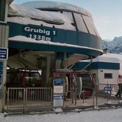 Skilift Grubig 1 im Skigebiet Grubigstein - ©Markus Hahn