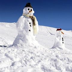 Schneemänner in Kärnten - ©Kärnten Werbung