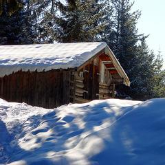 Dammkar - Karwendel löste einen Powderalarm aus. - ©Allie Caulfield