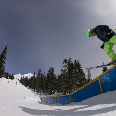 Early-Season Skiing: Timberline, Oregon