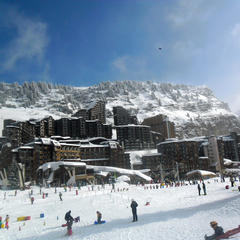 Avoriaz is a ski-in/ski-out resort