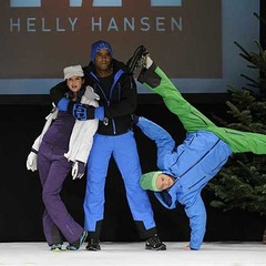 Tendances wear 2013 /  Collection Helly Hansen (photo Pascal Lebeau)