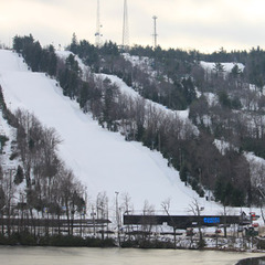 Jack Frost ski area in Blakeslee, Pennsylvania.