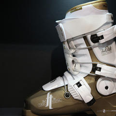 Ski boots are large, stiff and can be uncomfortable, but that doesn't always mean you have to wince every time you put one on.