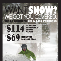 Ski and Stay Package offers an affordable and fun way to experience Lake Tahoe's North Shore