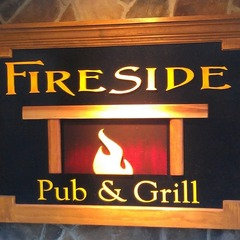 Fireside Pub & Grill at Roundtop Mountain Resort.