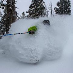 Jackson Hole saw blower powder this weekend. Photo courtesy of Jackson Hole Mountain Resort.