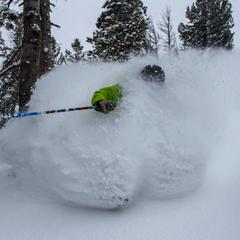 Jackson Hole saw blower powder this weekend. Photo courtesy of Jackson Hole Mountain Resort.