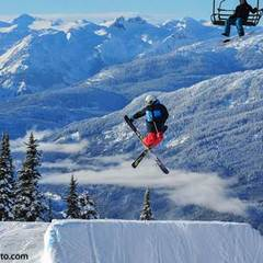 Air time at Whistler Blackcomb. Photo by Logan Swayze/Coastphoto.com. - ©Logan Swayze/Coastphoto.com