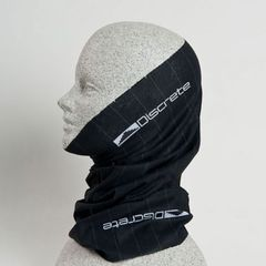 Discrete Droz Gaiter - The Discrete Droz Gaiter provides protection from the elements, without holding you down. Made from 100 percent microfiber polyester, the Droz Gaiter is soft, breathable and fashionable thanks to its pinstripe design. $18. - ©Discrete