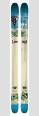 Icelantic Skis came out with a 75th Anniversary ski for Loveland.