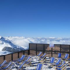 La terrasse du restaurant Le Désert Blanc à Flaine - ©Le Desert Blanc