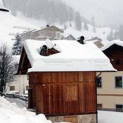 Fresh snow in Arabba, Italy. Jan. 15, 2013
