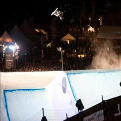 Lors de la finale Big Air O'Neill Evolution 2013