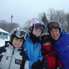 Family at Caberfae. - ©Caberfae Peaks