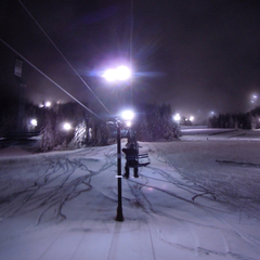 Mt Hood Skibowl night skiing